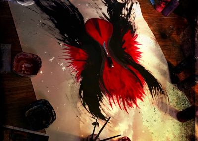 Autumn Equinox Ritual Painting